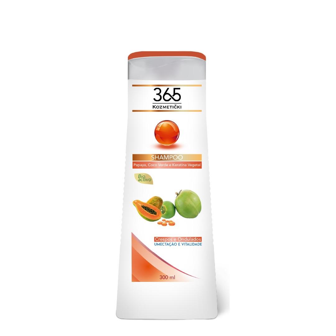 Shampoo Crespos e Ondulados 365