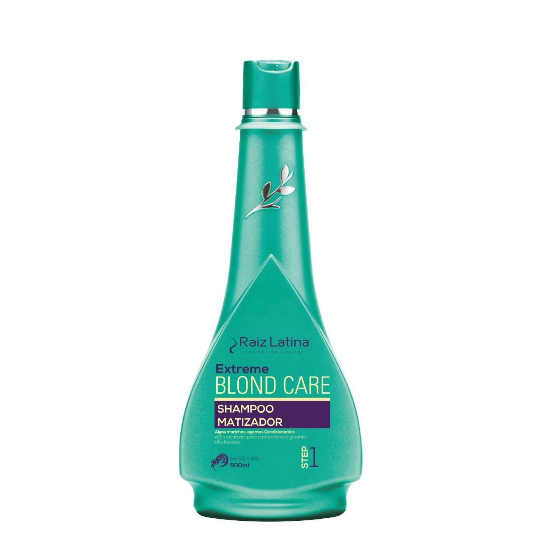 Shampoo Matizador Blond Care 500ml