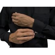 Camisa Para Padre Abotoadura Gola Romana Slim Fit Manga Longa Tecido Passa Fácil - REF.: 221