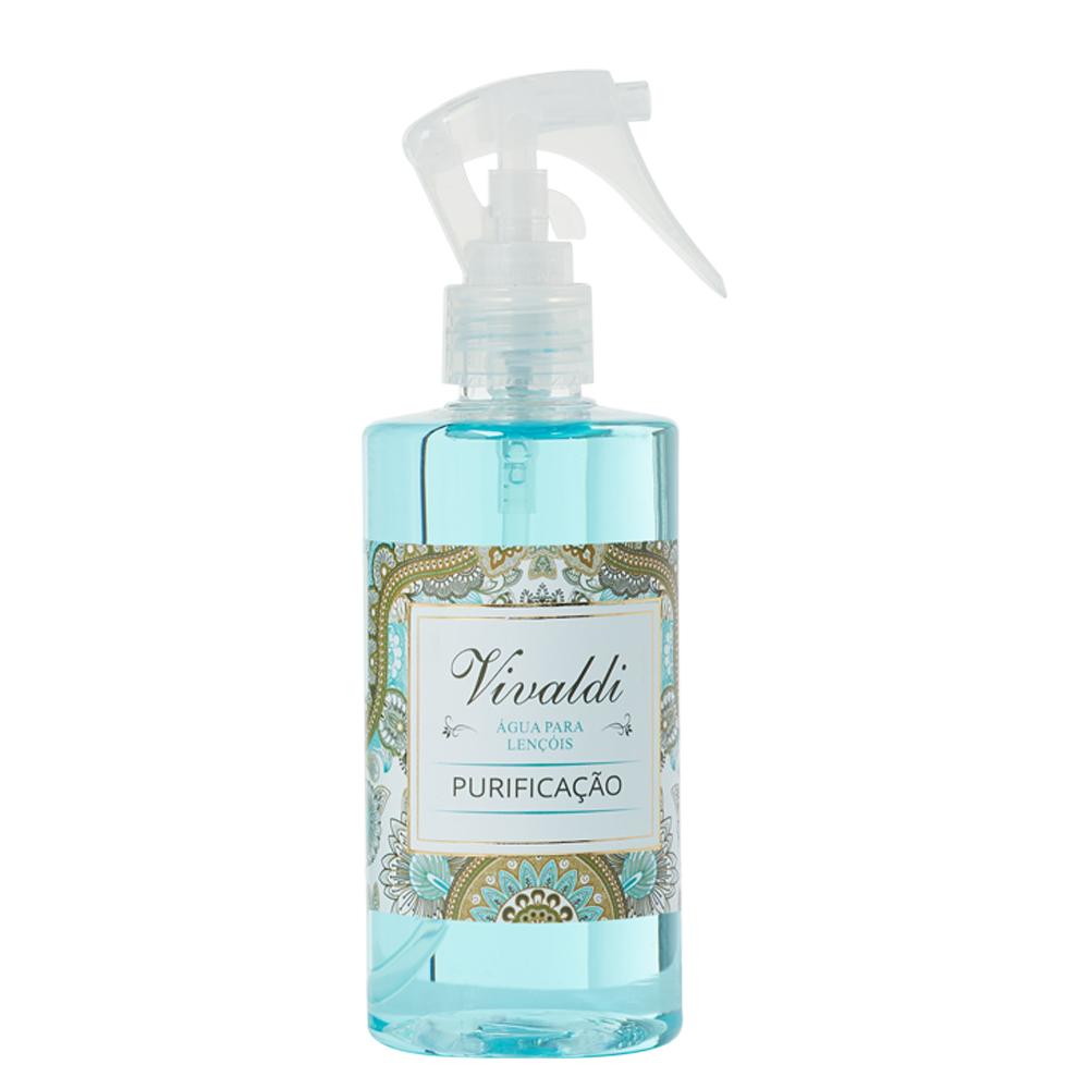 Água  para Lençóis Purificação - Fragrância Cítrica Floral Aromática