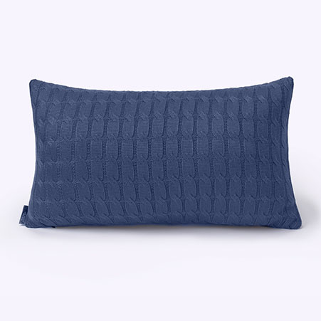 Capa Travesseiro Big Tricot Blue Ref 70571/5104
