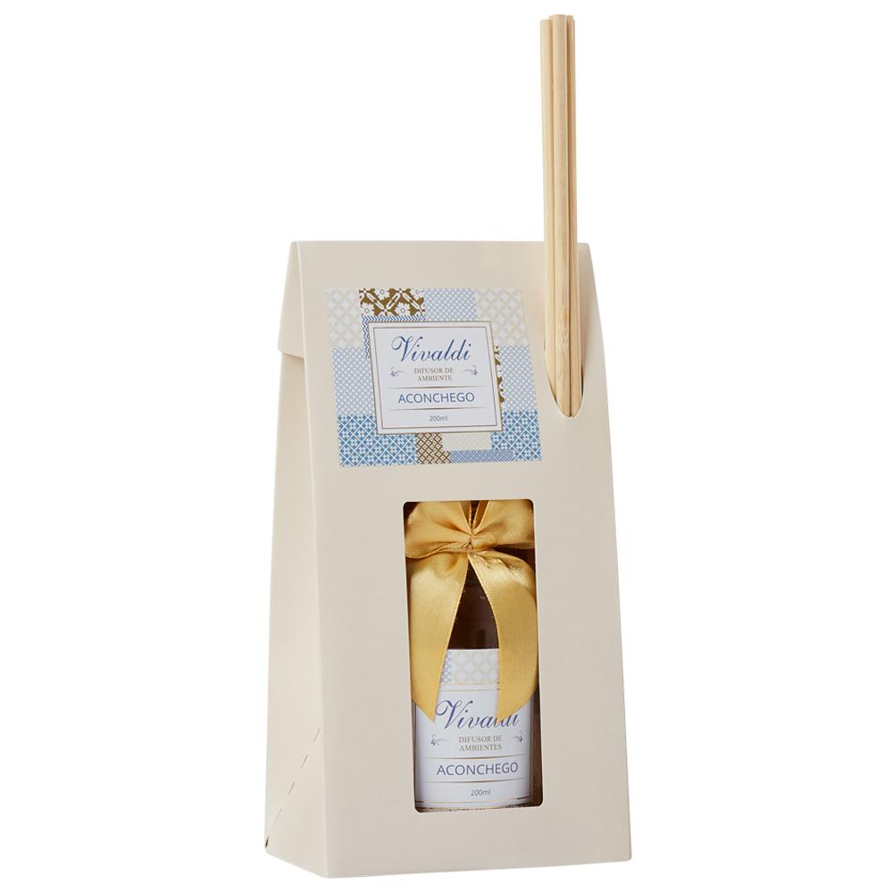 Difusor de Ambiente Aconchego - Fragrância Floral Gourmand Aromática