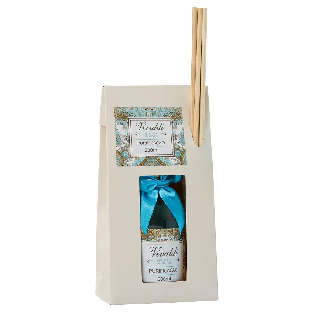 Difusor de Ambiente Purificação - Fragrância Cítrica Floral Aromatica