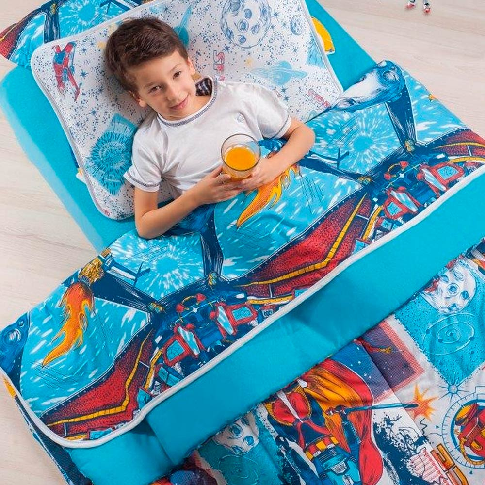 Edredom Infantil Casal Kids Estampado Vivaldi Space Ref 66.61.0003/3265