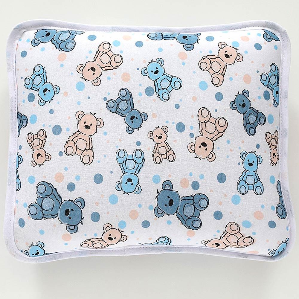 Fronha Bebê Estampada Vivaldi Urso Azul Ref 66.01.0013/3120