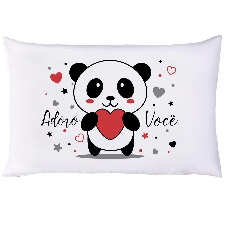 Fronha Divertida Estampada Vivaldi Panda Carinhoso Ref 60.01.0020/3438