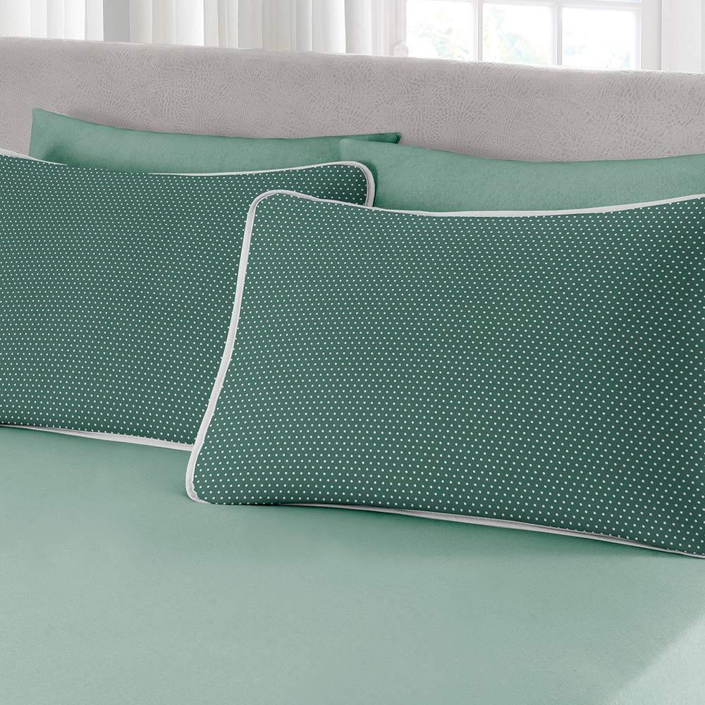 Fronha Estampada Premium Ciranda Verde Ref 70.01.0003/7125