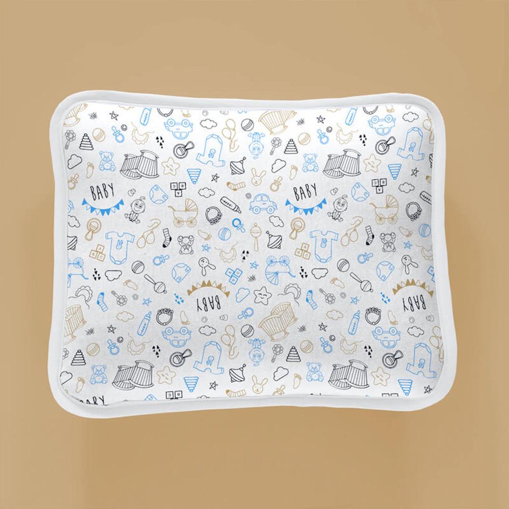 Jogo de Cama Bebê 2 Peças Vivaldi Baby Azul Ref 66.70.0013/3493