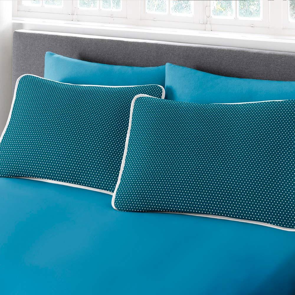 Jogo de Cama Solteiro 2 peças Premium Ciranda Azul Ref 70.70.0003/7126