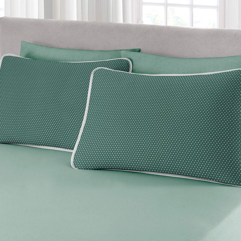 Jogo de Fronhas 2 peças Premium Ciranda Verde Ref 70.01.0004/7125