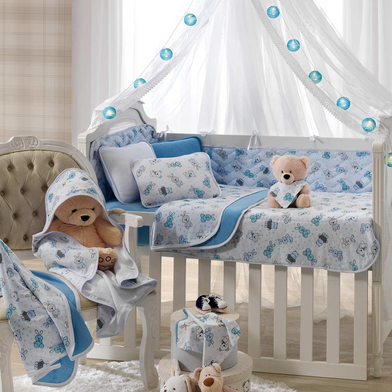 Manta Dupla Vivaldi Baby Bichinhos Azul Ref: 66.01.0023/3358