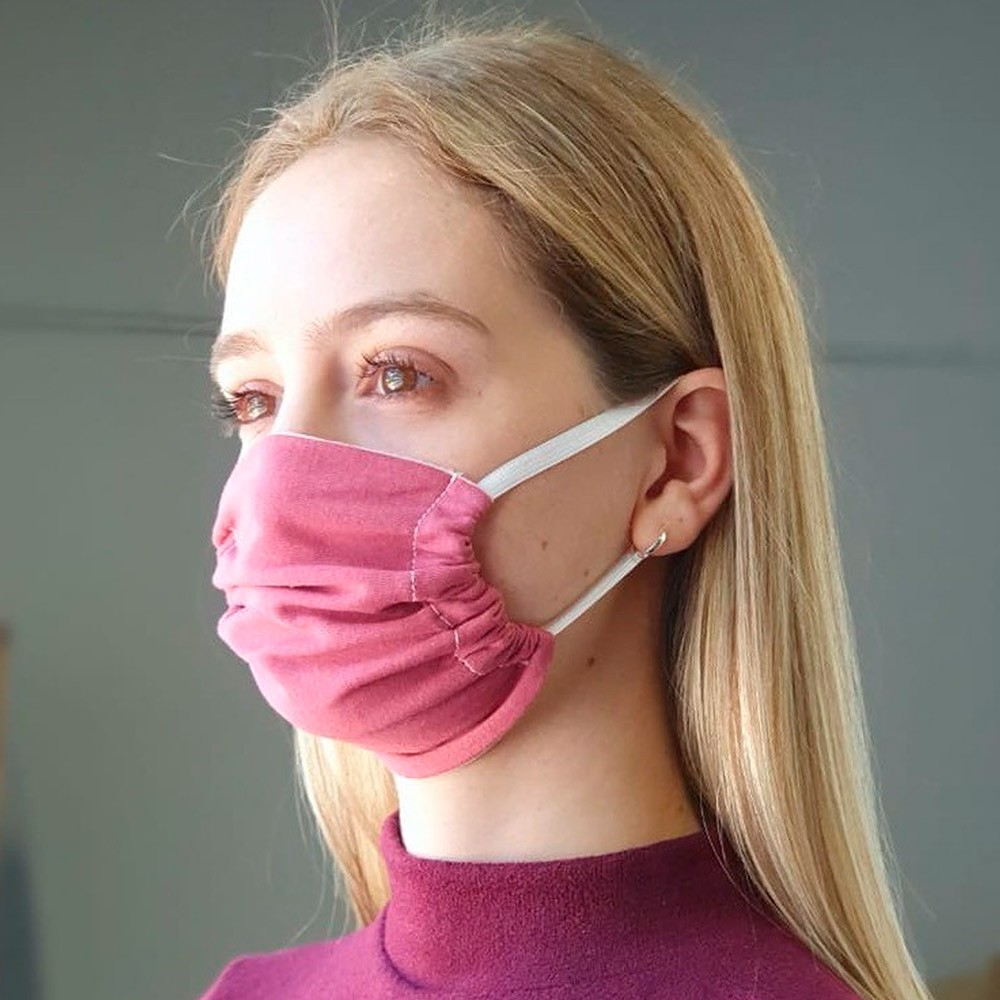 Máscara Protetora Reutilizável Avulsa Feminina Lisa Ref: 45.02.0001