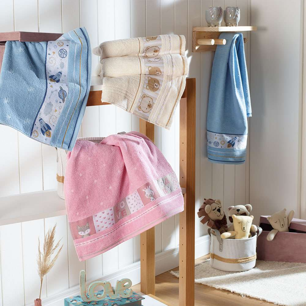 Toalha de Banho Soft Infantil/Baby - Divertidas