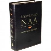 Bíblia de Estudo NAA - Preta
