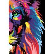 Bíblia NVT Letra Grande - Leão Color