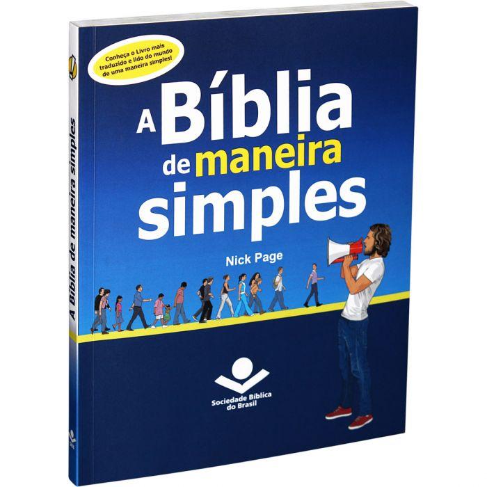 A Bíblia de Maneira Simples - Nick Page