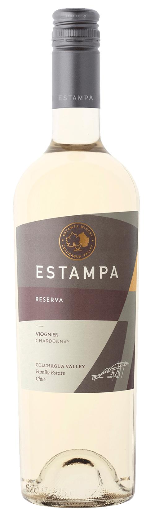 Estampa Reserva Viognier Chardonnay 2018
