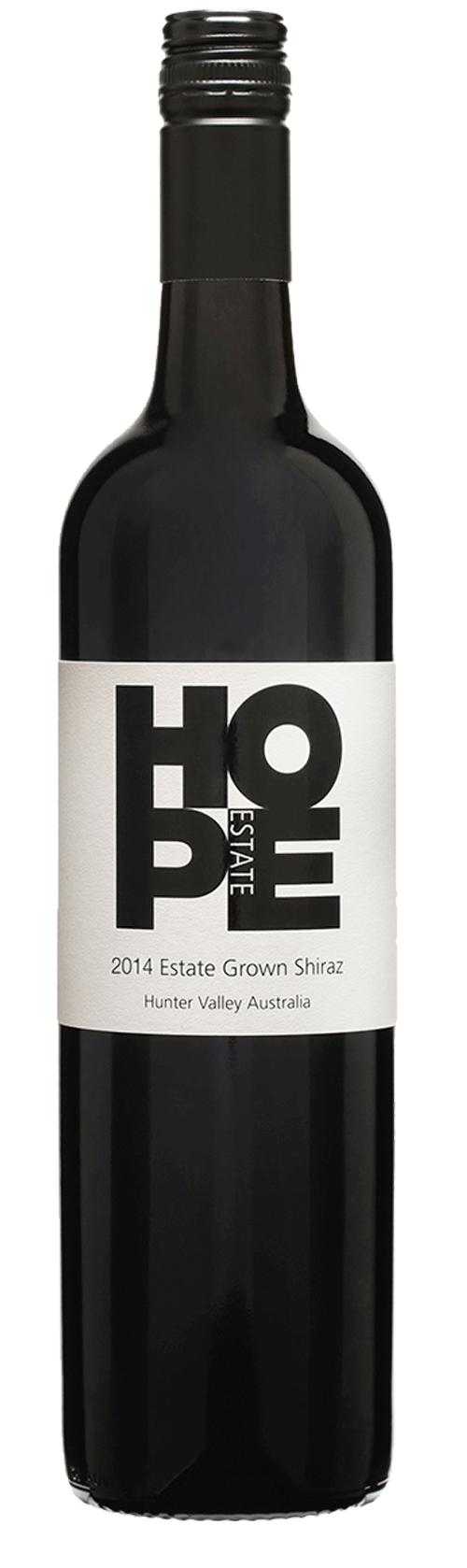 Hope Estate Grown Shiraz 2014