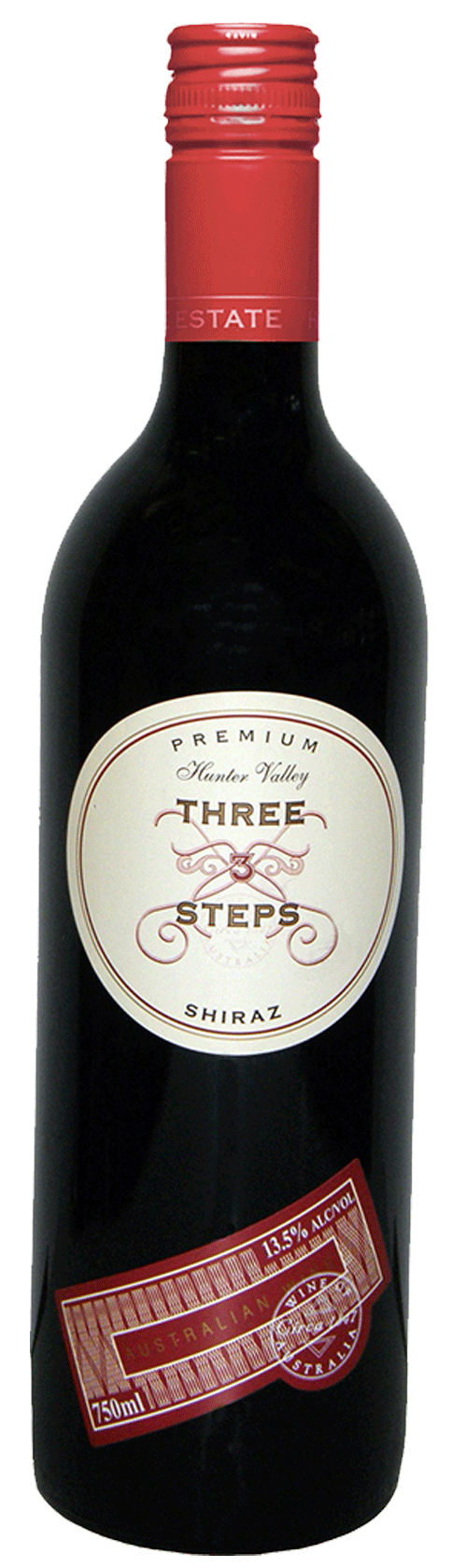 Three Steps Premium Shiraz 2014