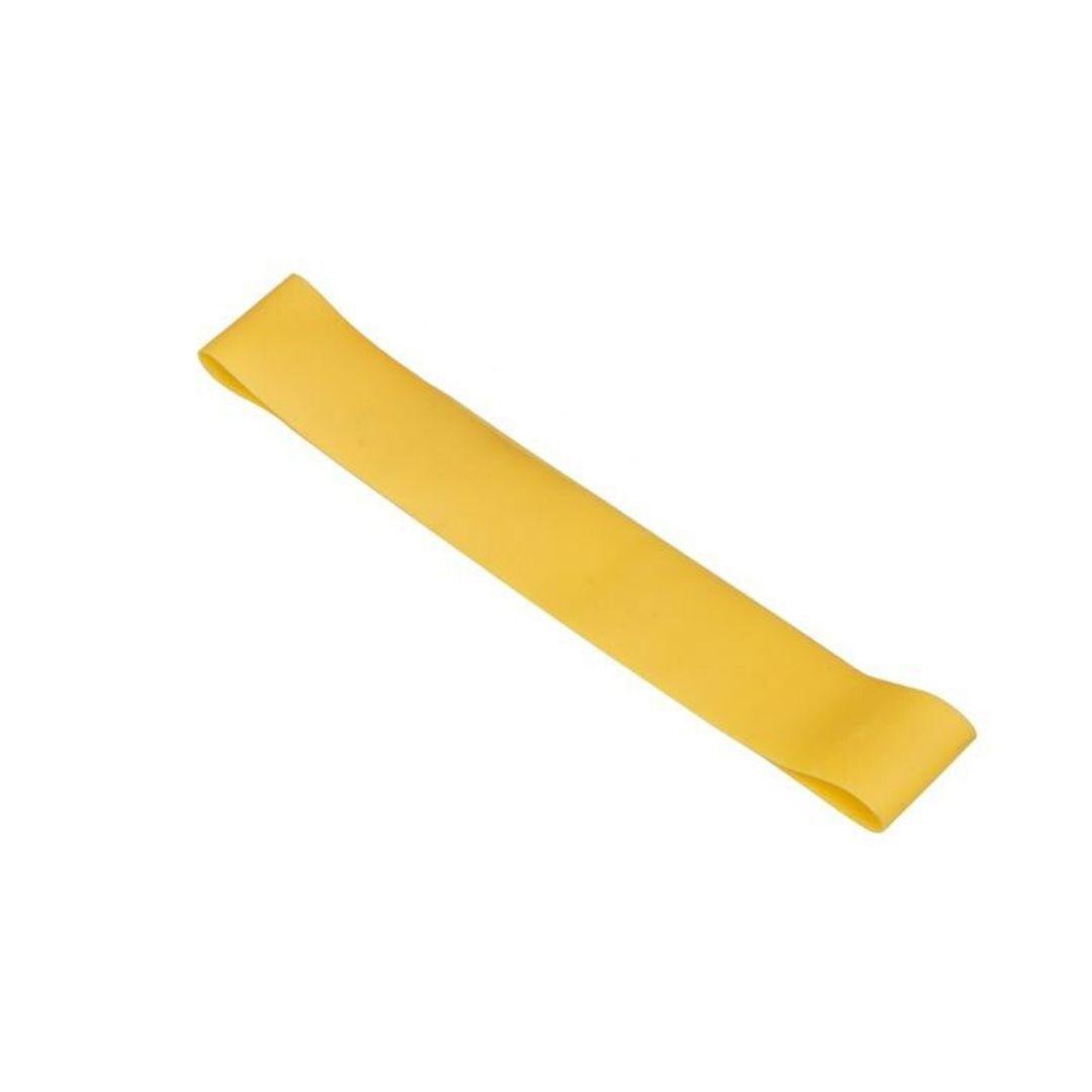 Faixa Elástica Mini Band Profissional tensão Light - Amarela