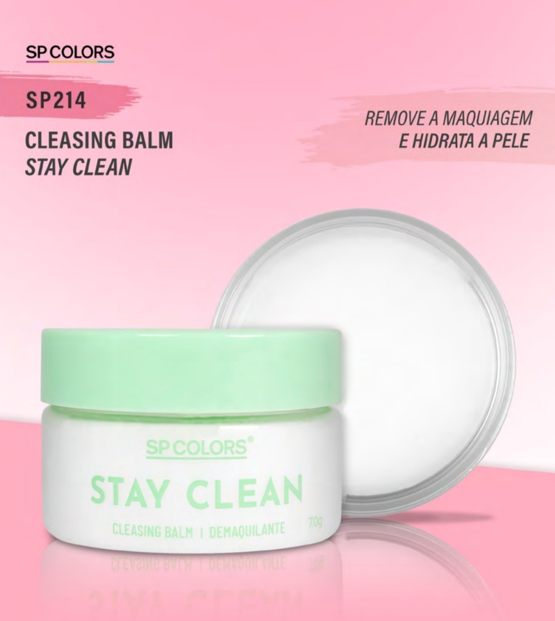 Cleasing Balm Stay Clean Demaquilante SP Colors