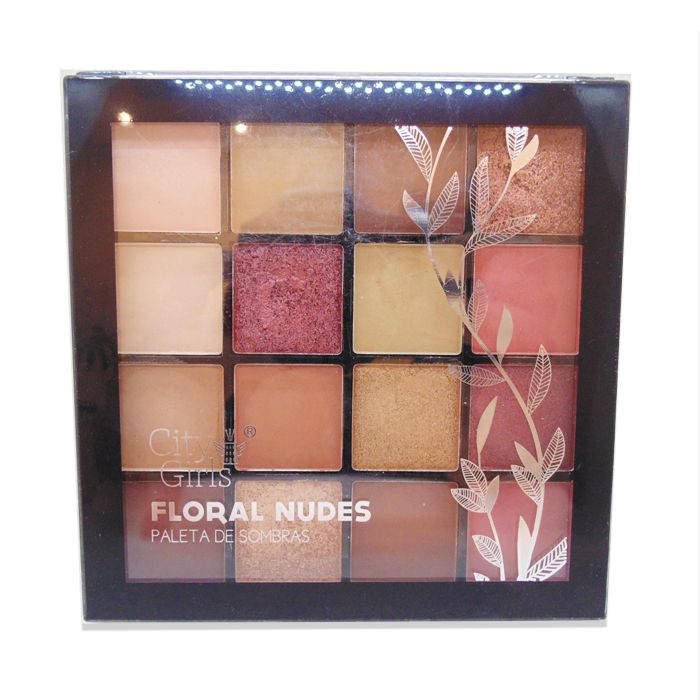 Paleta de Sombra City Girls Floral Nudes