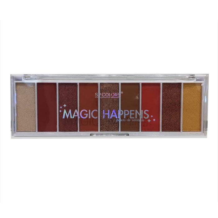 Paleta de Sombra Sp Colors Magic Happens