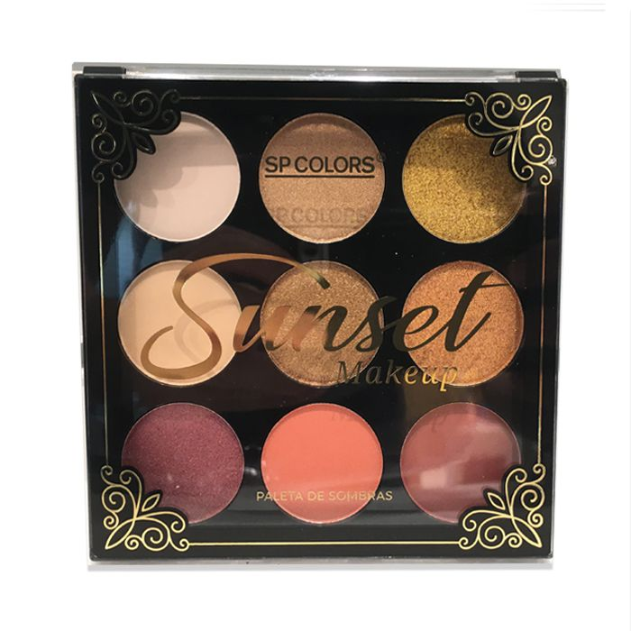 Paleta de Sombra Sp Colors Sunset Makeup