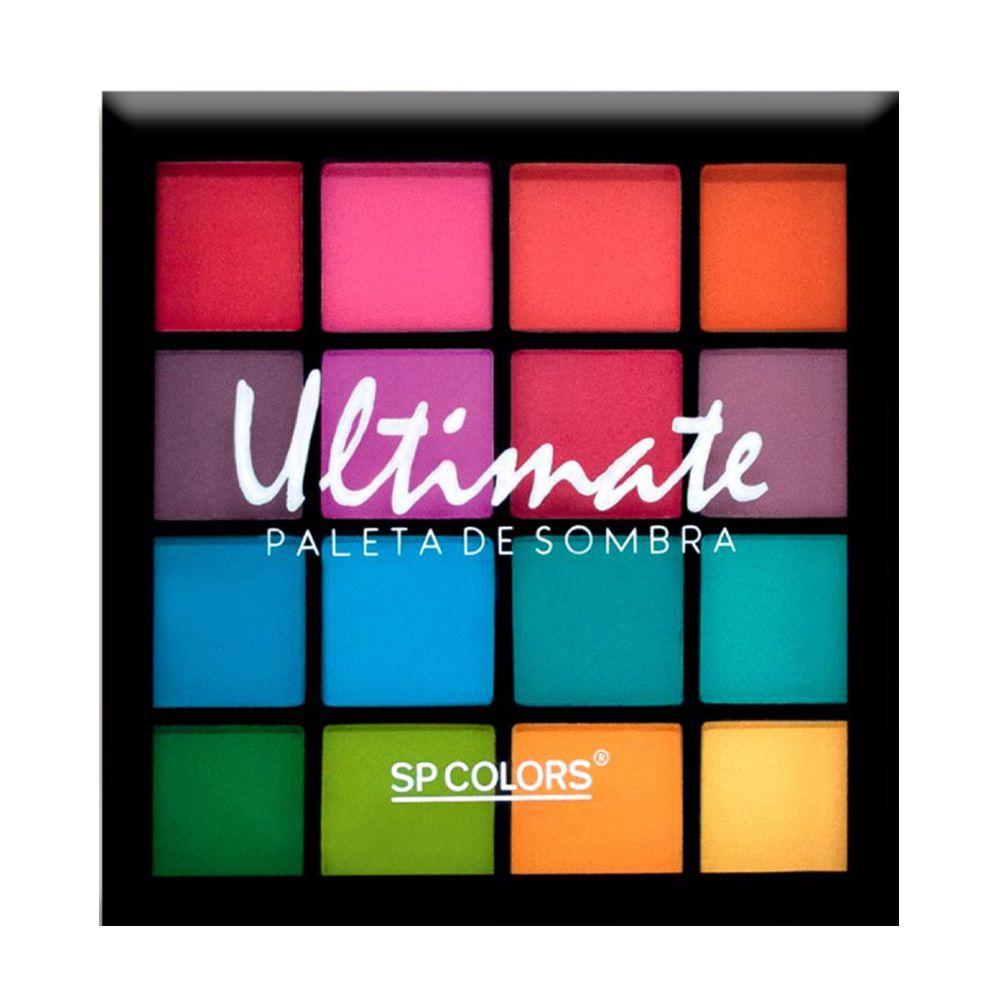 Paleta de Sombra Sp Colors Ultimate
