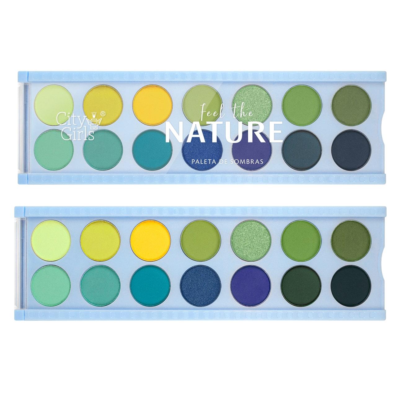 Paleta de Sombras 10 Cores Broadway SP Colors