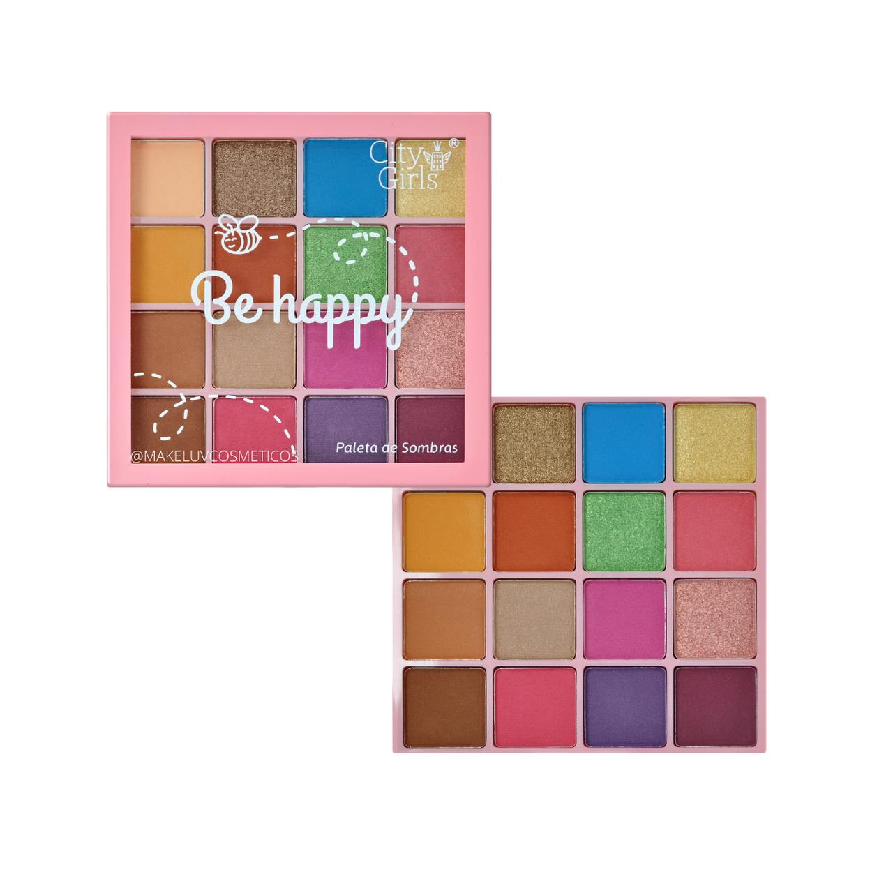 Paleta de Sombras Be Happy City Girls