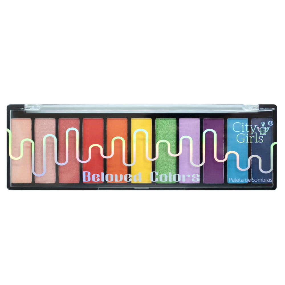 Paleta de Sombras Beloved Colors City Girls