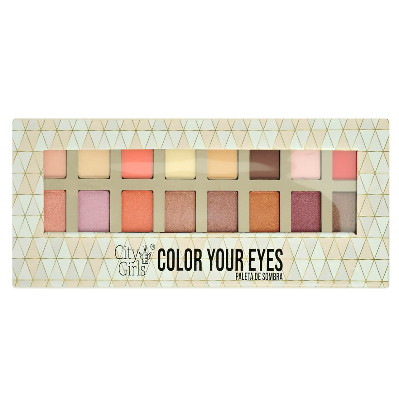 Paleta de Sombras Color your Eyes City Girls