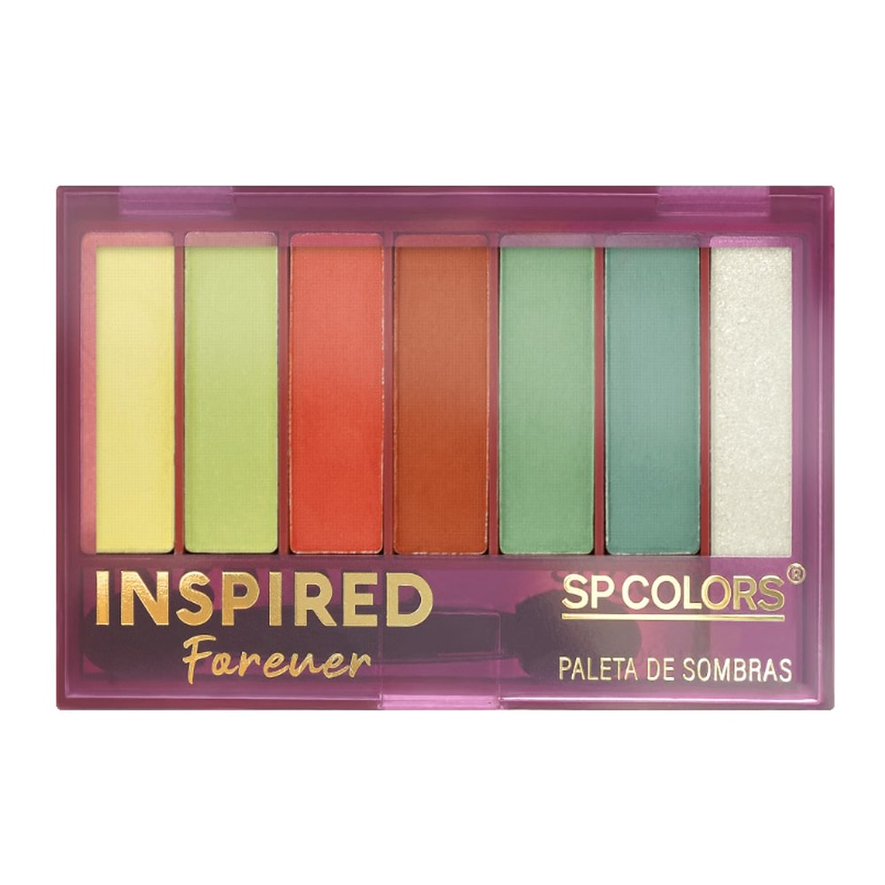 Paleta de Sombras Inspired Forever SP Colors