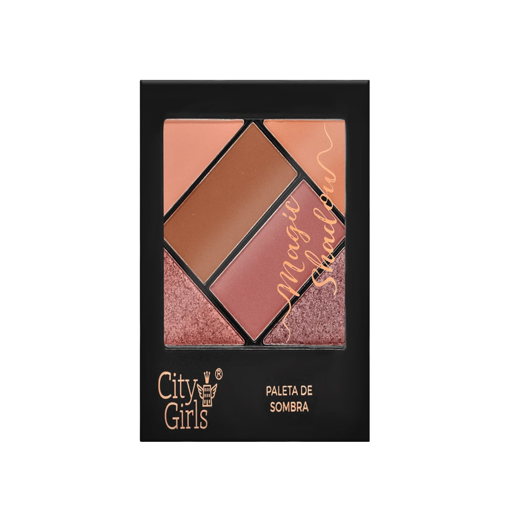 Paleta de Sombras Magic Shadow City Girls
