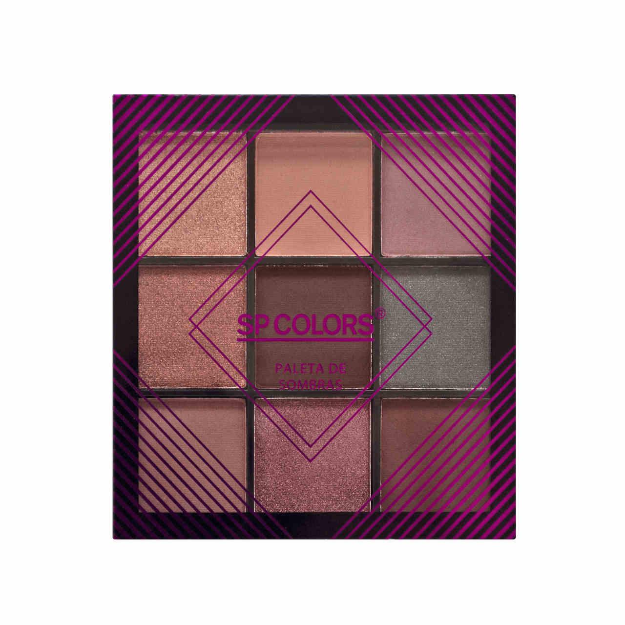 Paleta de Sombras SP Colors