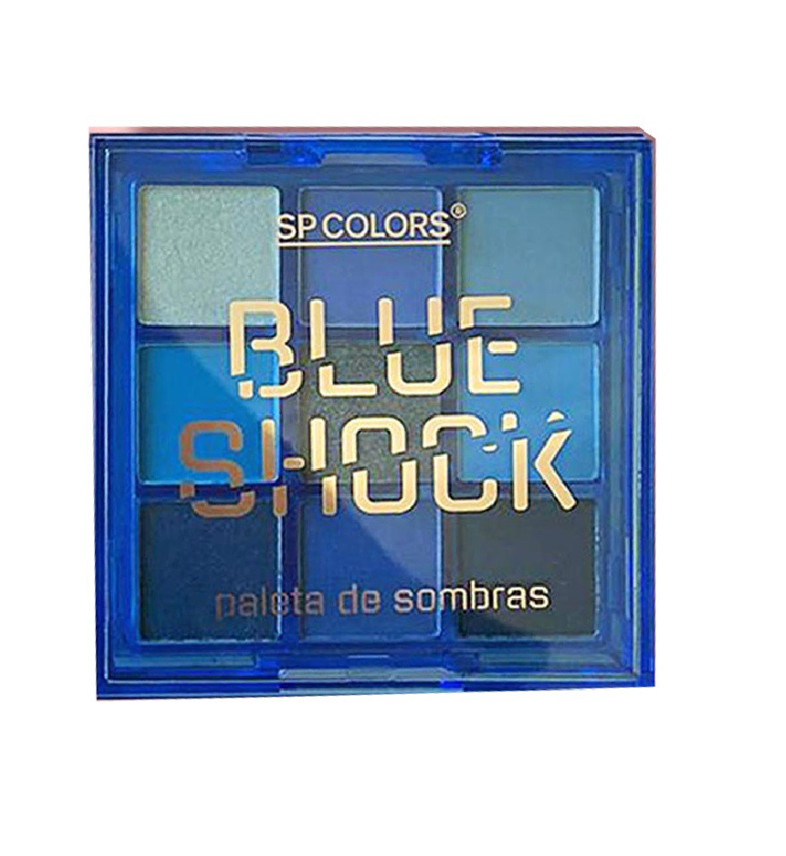 Paleta de Sombras SP Colors Shock