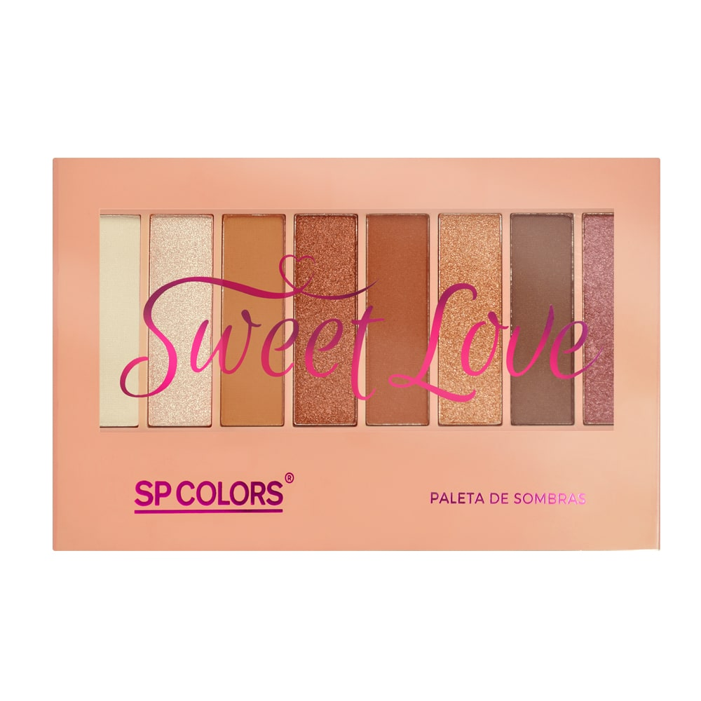 Paleta de Sombras Sweet Love SP Colors