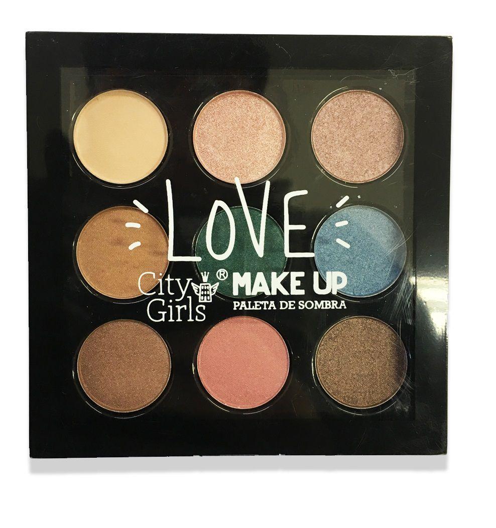 Sombra City Girls Love Make Up