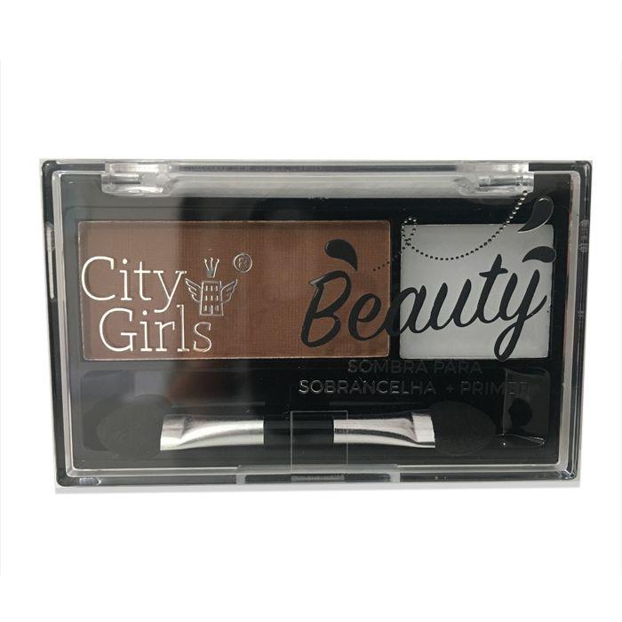 Sombra para sobrancelha + Primer City Girls Beauty