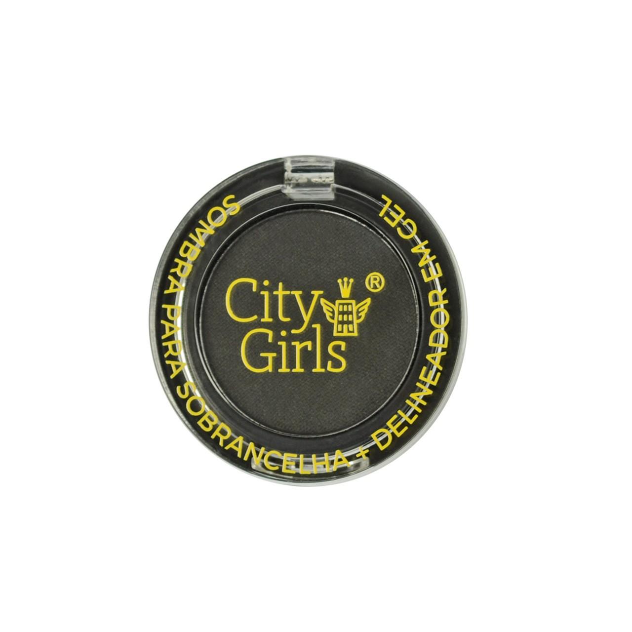 Sombra para Sobrancelhas e Delineador em Gel City Girls