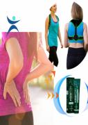 Elimine dores Colete  + Pomada Massageadora Fisiofort Verde
