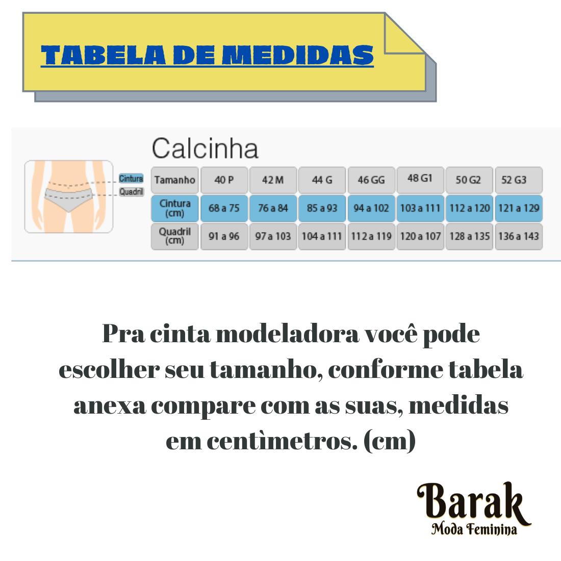 CALCINHA TANGA MODELADORA  SECA BARRIGA ALTA COMPRESSÃO