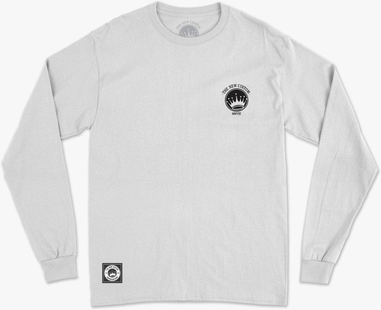 Camiseta Long Sleeve New Custom Pantera