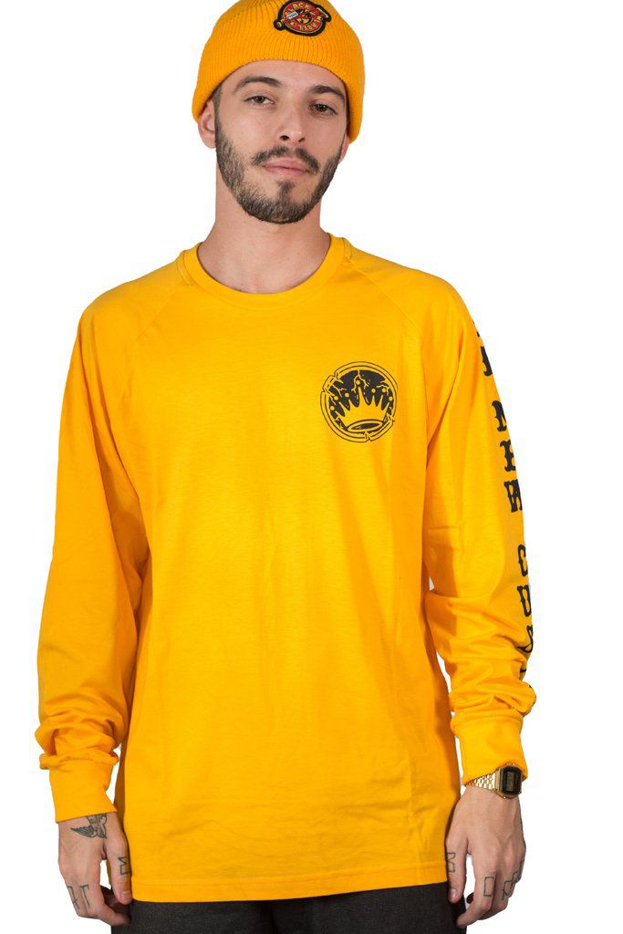 Camiseta Long sleeve New Custom Yellow Stone