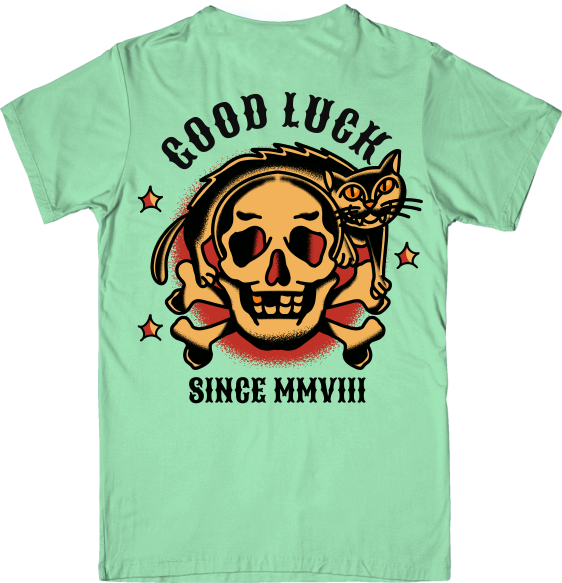 Camiseta New Custom Good Luck