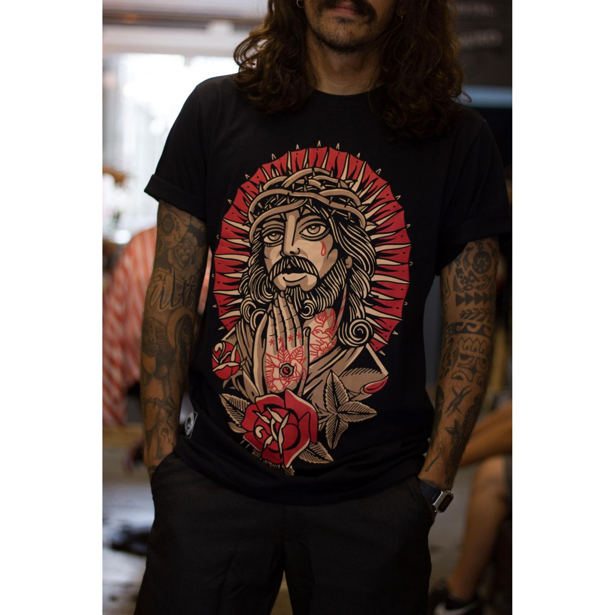 Camiseta New Custom  Old Jesus
