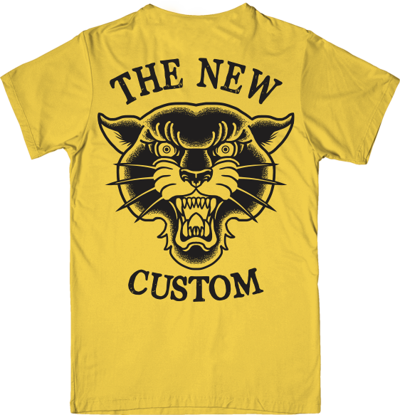 Camiseta New Custom Panther