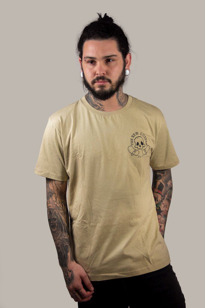 Camiseta New Custom Skate Broke