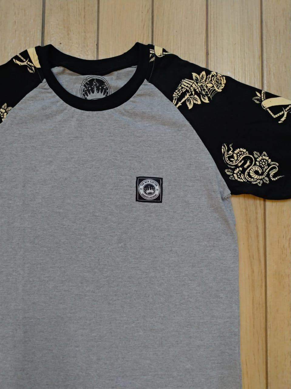 Camiseta Raglan New Custom 3/4